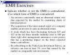 emh exercises