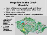 megaliths in the czech republic1