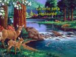 la terre sera restaur e
