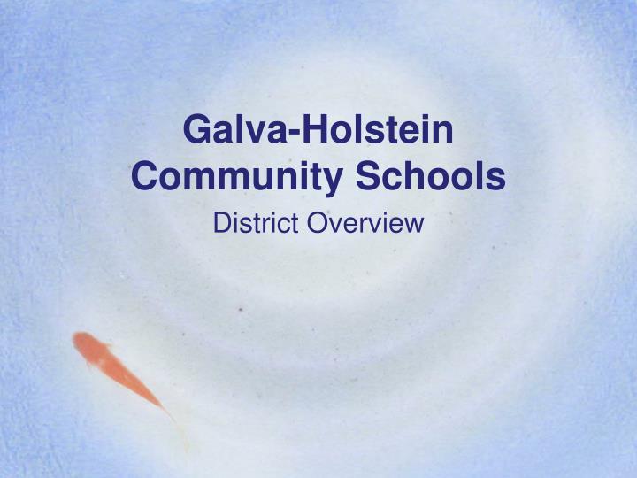 galva holstein community schools n.