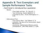appendix b text exemplars and sample performance tasks2