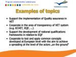 examples of topics1