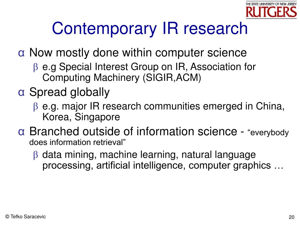 PPT - Information Science 2005 PowerPoint Presentation - ID