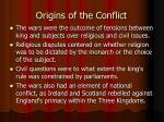 origins of the conflict