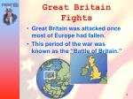 great britain fights