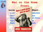 war on the home front2