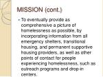 mission cont
