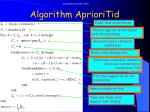 algorithm aprioritid1