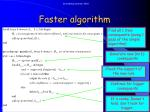 faster algorithm2