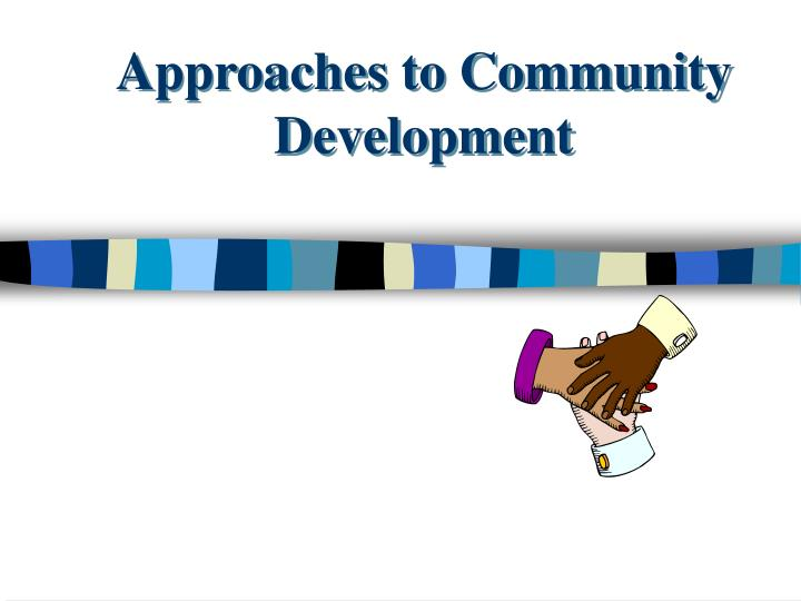 approaches to community development n.