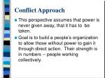 conflict approach1
