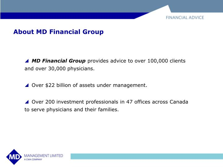 About md financial group