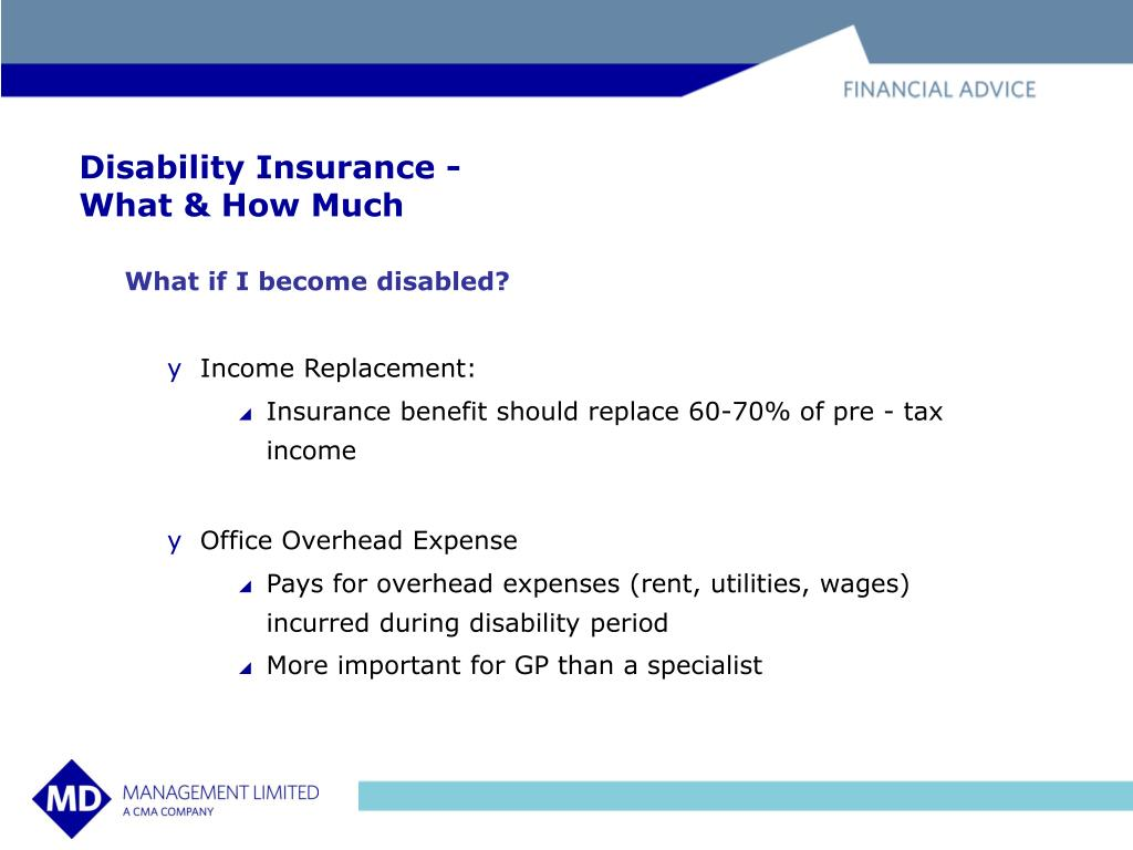 Disability Insurance -
