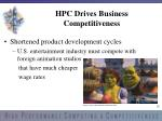 hpc drives business competitiveness2