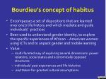 bourdieu s concept of habitus