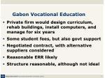 gabon vocational education