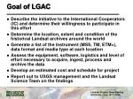 goal of lgac