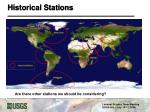 historical stations