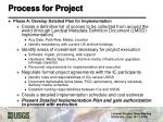 process for project