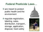 federal pesticide laws2