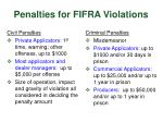 penalties for fifra violations