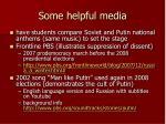 some helpful media