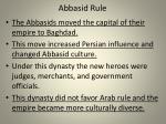 abbasid rule