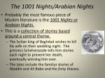 the 1001 nights arabian nights