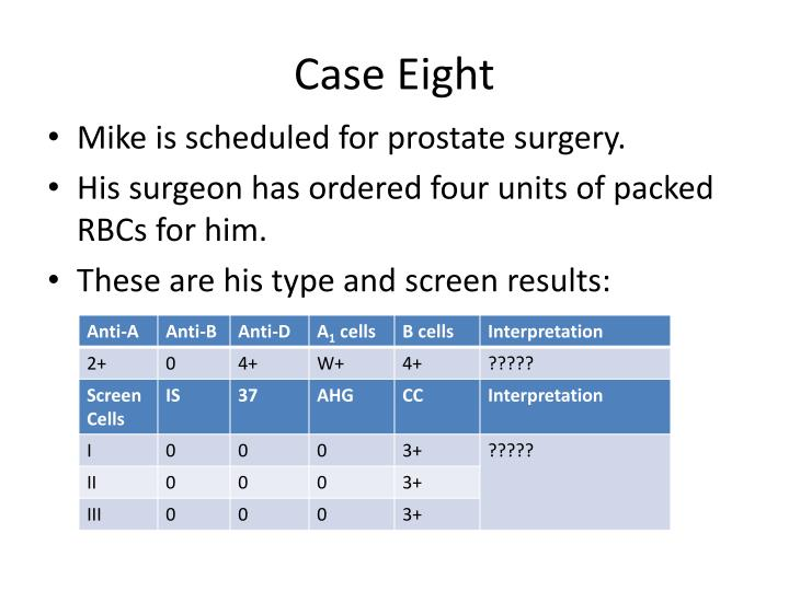 Case Eight