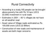 rural connectivity