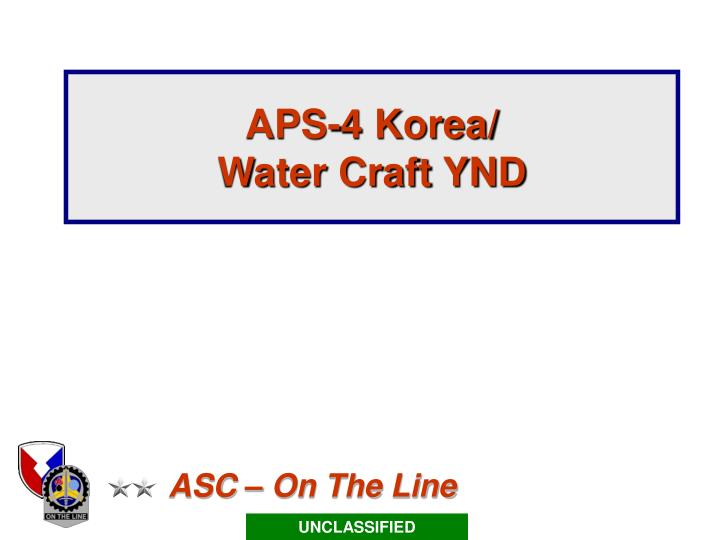 aps 4 korea water craft ynd n.