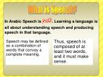 speech may be defined as a combination of words that convey a complete meaning