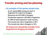 transfer pricing and tax planning24