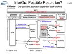 interop possible resolution