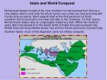 islam and world conquest