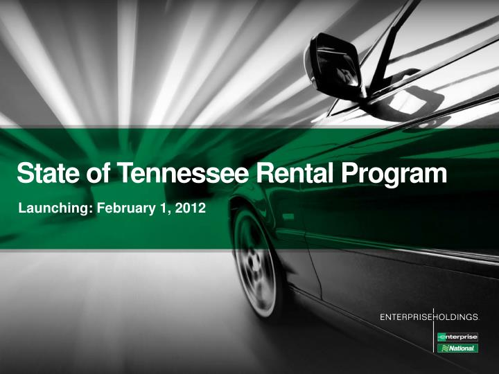 state of tennessee rental program n.
