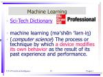 machine learning1