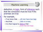 machine learning7