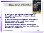 three laws of robotics