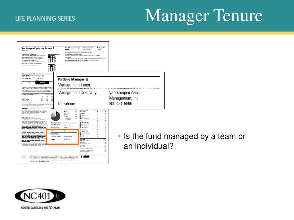 Manager Tenure