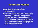 review and revision1