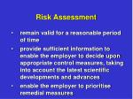 risk assessment8