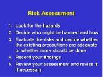 risk assessment9