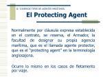 el protecting agent