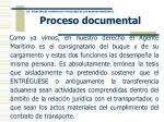 proceso documental