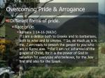 overcoming pride arrogance10