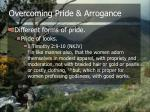 overcoming pride arrogance11
