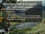 overcoming pride arrogance12