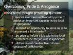 overcoming pride arrogance13