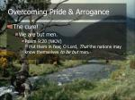 overcoming pride arrogance16